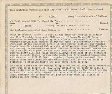 Mortgage b (Edith & Samuel Bell 1937)