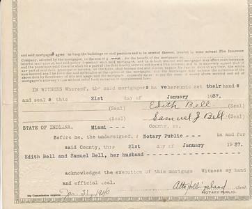 Mortgage c (Edith & Samuel Bell 1937)