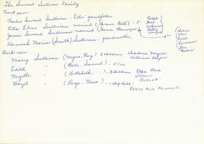 Family History (Seward Sullivan Family)