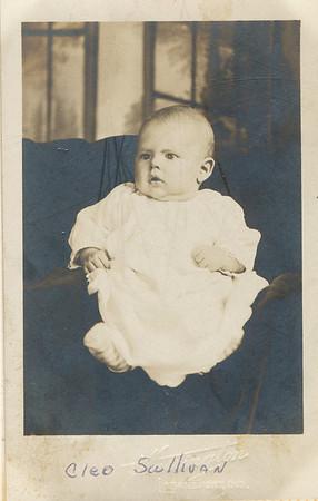 Cleo Sullivan (born 11-24-1908 died 10-27-1911)