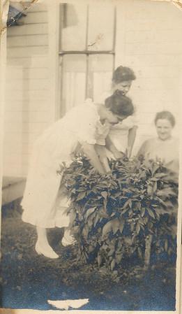 Hazel Sullivan (On left)