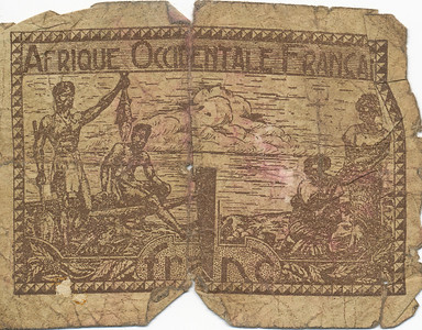 Money from France brown (front)