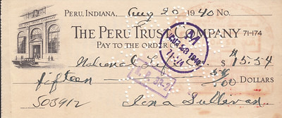 Money Order to National Life - 20AUG1940-front