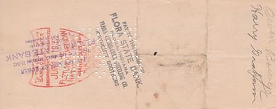 Money Order to Owen Bowyer - 08JUN1932-back