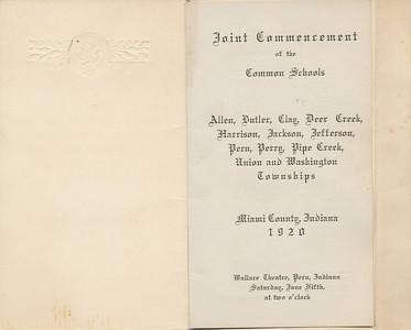 Commencement 1920 a