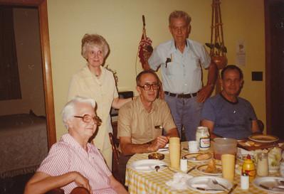 Helen & Kenneth Clark, Eileen, Earl,& Ellis Sullivan (6-15-1981)