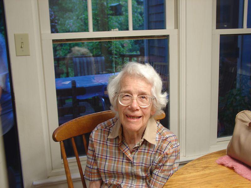 Mother at Bea's  (still 92)