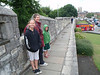 On the City Wall in York