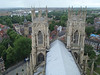 View from York Minster Tower