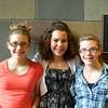 Elena, Christina, and Elisa at Christina's 8th Grade Graduation Ceremony.
