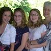Christina, Elisa, Elena, and Anitra. June 2011.