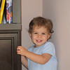 One of my favorite pictures.  Charlotte is laughing after a game of hide and seek in one of her favorite hiding places.