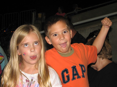 These two are so goofy! At the circus