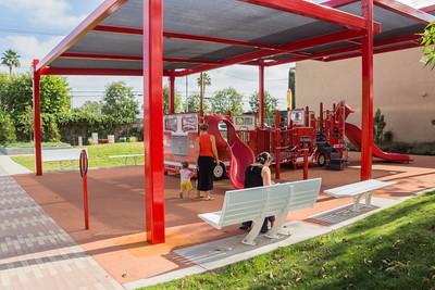 The firetruck playground