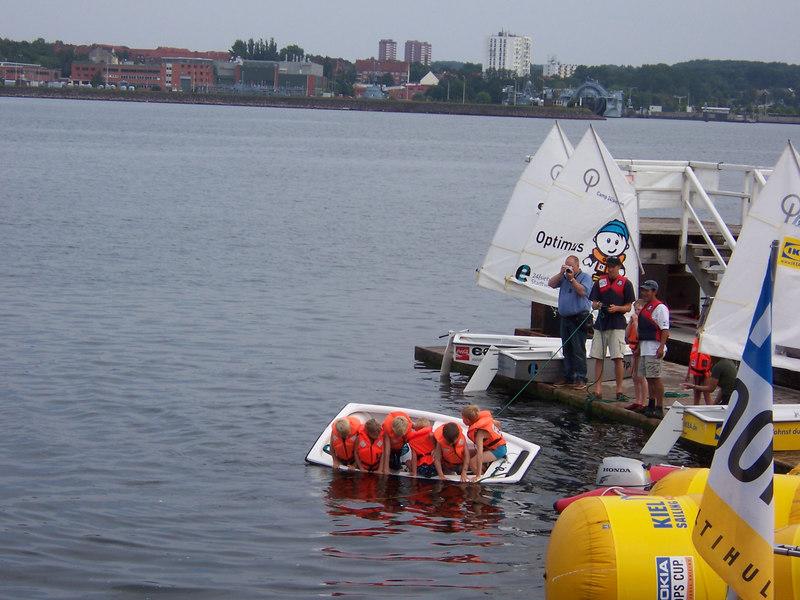 Sailing class in Kiel