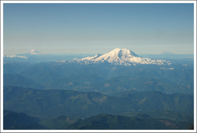 Mt. Rainier on the way to Pittsburgh