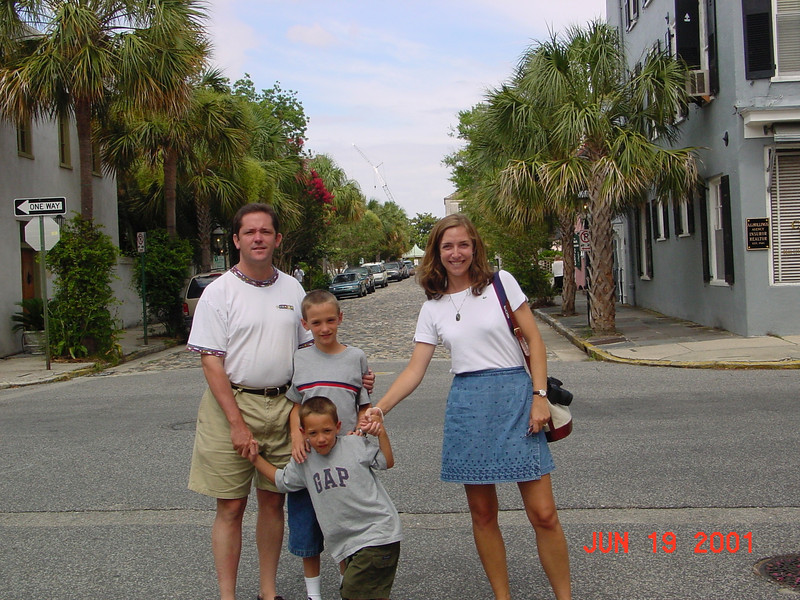 Our SC vacation in 2001