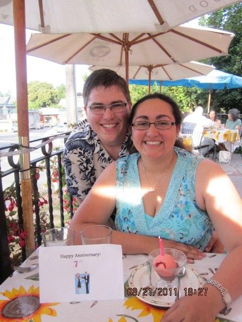 7th Anniversary Dinner at Il Perche'no