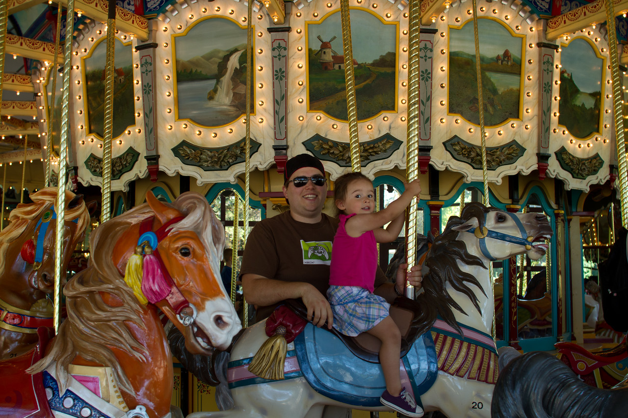 And on the Merry Go Round. Again.