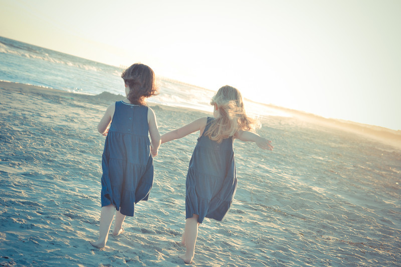 Sunset Beach, North Carolina is a beautiful location to have family beach portraits.