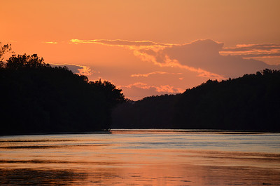Sunset on the Potomac