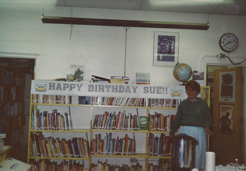 susan birthday banner