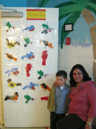 Susan's Class Project at Carter's School, March 8, 2012