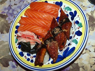 Sushi Dinner in Los Gatos
