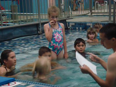 swim lessons and band practice