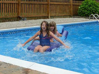 Sydney and Sofia having fun