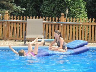 The raft was great fun!