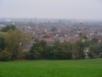 Another view of Swindon from The Lawns