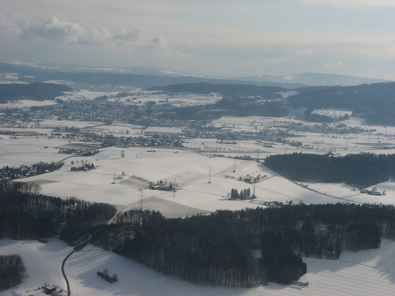 Just before landing in Zürich on March 24/2007