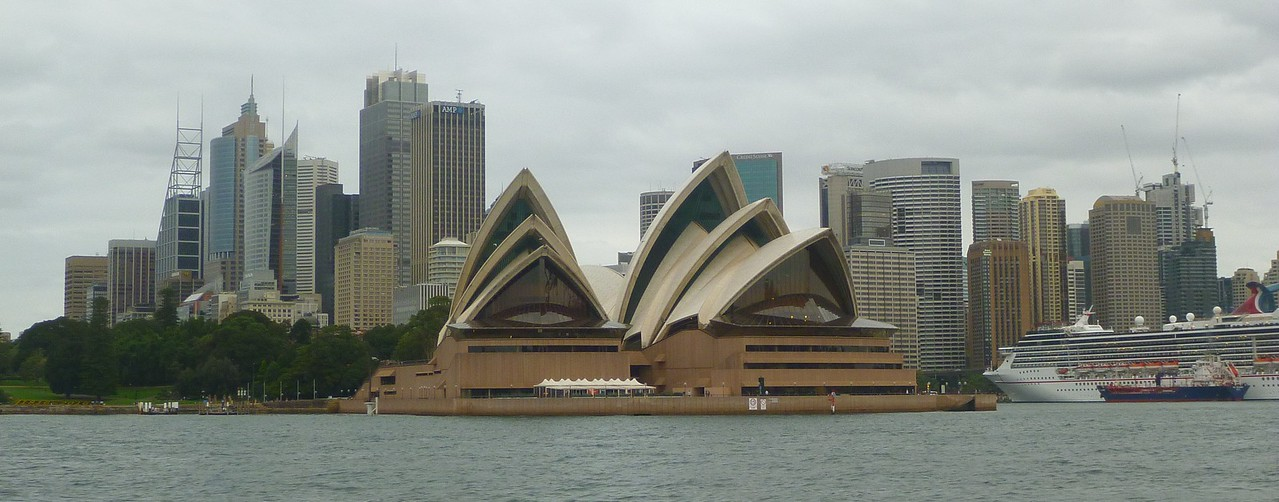 The Sydney Opera House is really spectacular.