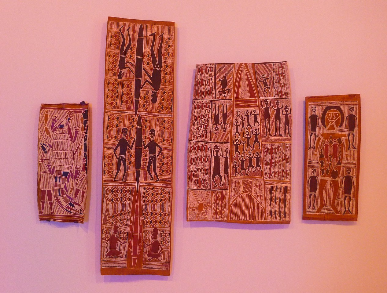 Sydney - Museum of Contemporary Art - Aborigine Art