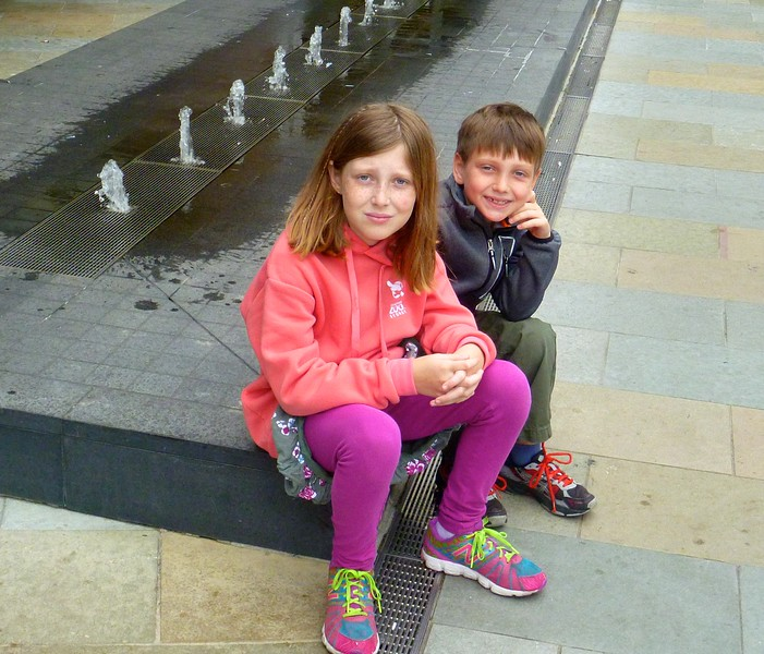 Sophie and Alex near the  Opera House