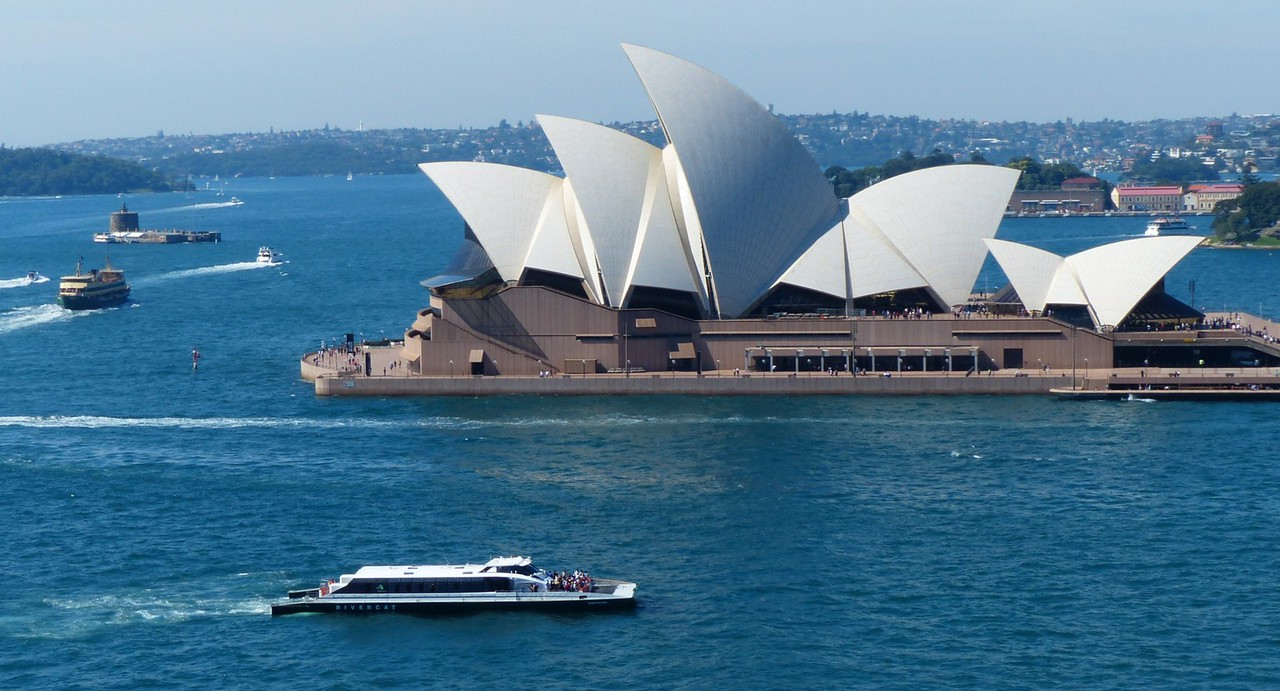 Sydney  Opera House from Harbor Bridge