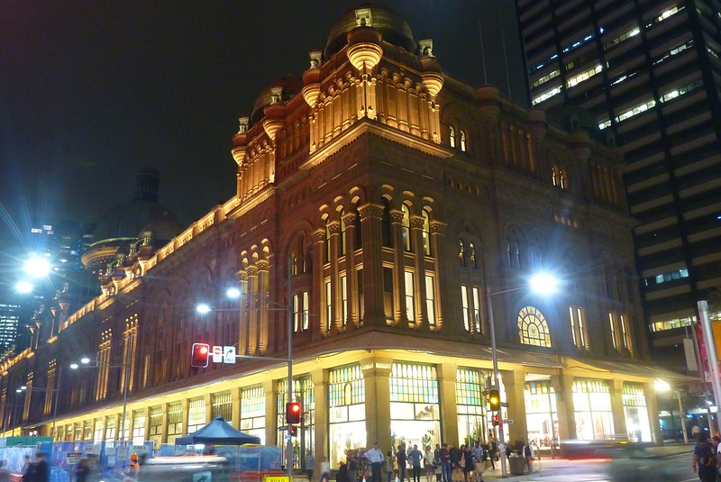 Sydney - Queen Elizabeth Building, now a shopping mall.