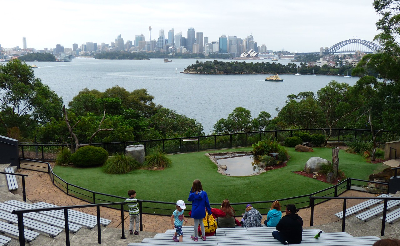 Sydney - Taronga Zoo - Hard to beat this for a view.