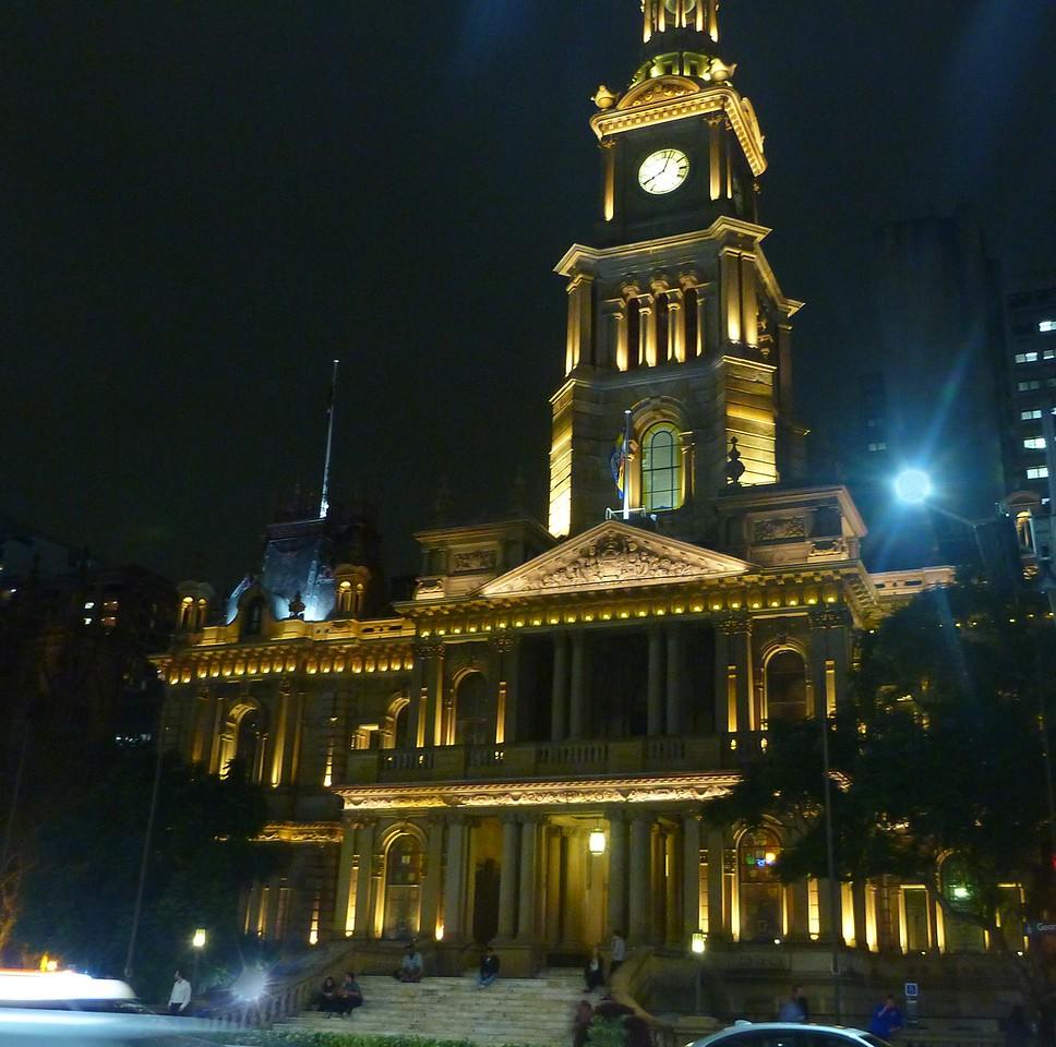 Sydney - Old Town Hall