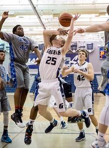 Fairfax @ W-L Boys Basketball (16 Feb 2016)