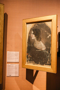 Emily Bronte at National Portrait Gallery