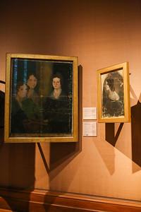Bronte sisters at the National Portrait Gallery
