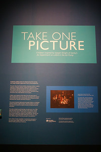 Take One Picture exhibition at the National Portrait Gallery
