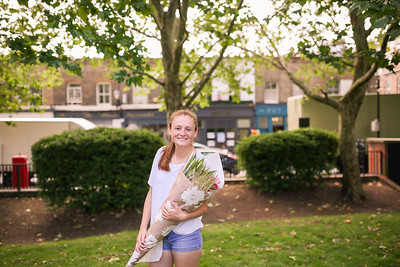 Sydney at the Columbia Road Flower Market