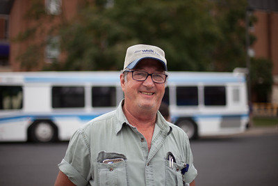 Darryll Fisher enjoys getting to know the students that he drives over the years