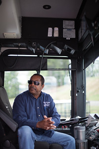 Weldon Strother trains new bus drivers and ensures that they do more than just drive the buses; he teaches trainees to interact and love their passengers