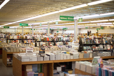 The book fair features over 500,000 titles over dozens of categories, each neatly organized for the book lover's convenience
