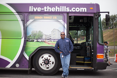 Weldon Strother drives a Special bus so he frequently helps out other routes--look out for him!