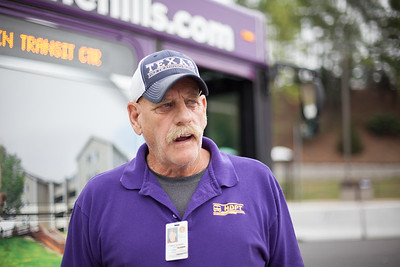 Frank Nicholson has been driving for JMU for ten years